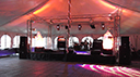 Indoor Stage Hire for London Party Marquee
